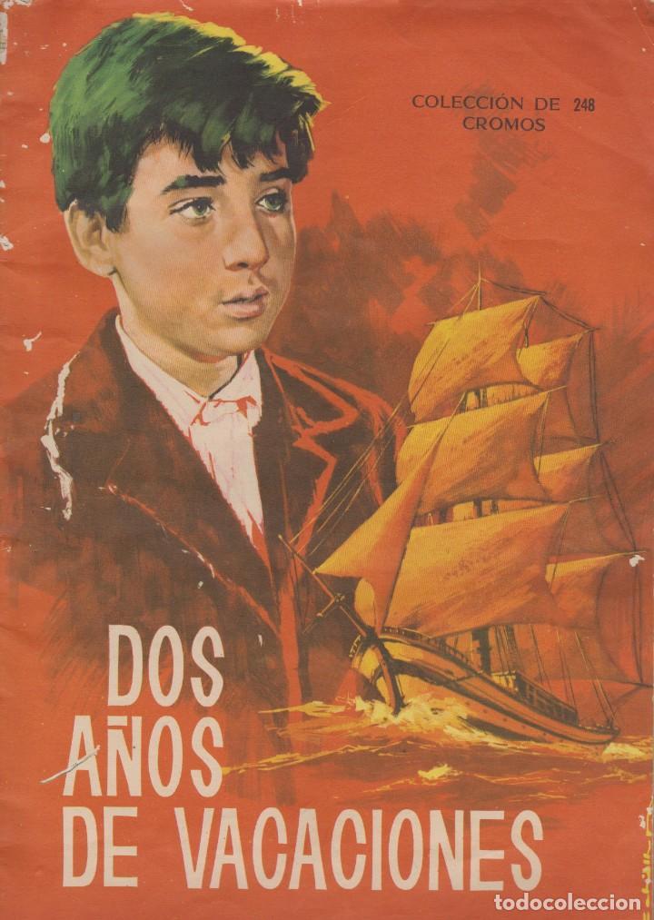 DOS AÑOS DE VACACIONES (Coleccionismo - Cromos y Álbumes - Álbumes Incompletos)