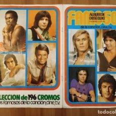 Coleccionismo Álbumes: FAMOSOS ALBUM OBSEQUIO - ALBUM ESTE - DIFÍCIL COLECCIONISTAS.. Lote 189191520
