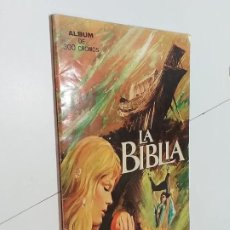 Collectionnisme Albums: LA BIBLIA. IBERO MUNDIAL DE EDICIONES. INCOMPLETO.. Lote 189287590