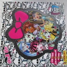 Coleccionismo Álbumes: ÁLBUM MONSTER HIGH - PANINI - 2013. . Lote 189367111