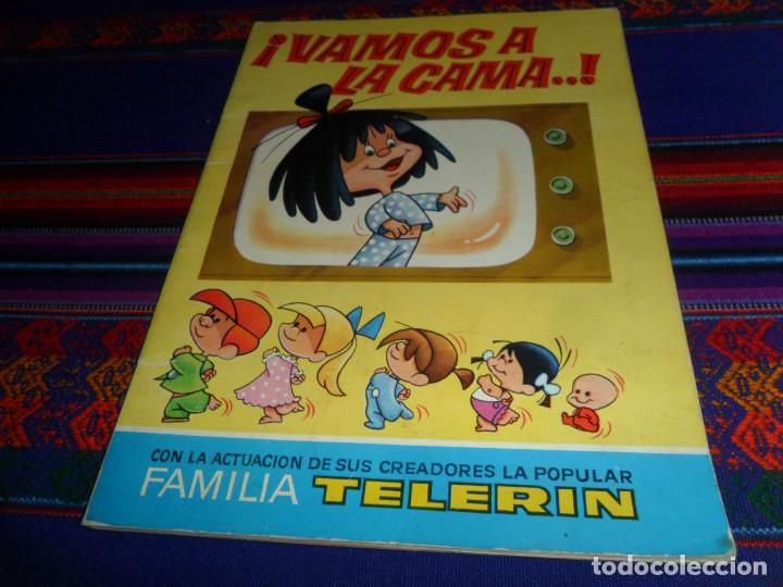 Coleccionismo Álbumes: VAMOS A LA CAMA FAMILIA TELERIN INCOMPLETO FALTAN 28 DE 180 CROMOS. BRUGUERA 1965. MBE REGALO CUENTO - Foto 2 - 57886056