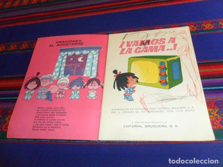Coleccionismo Álbumes: VAMOS A LA CAMA FAMILIA TELERIN INCOMPLETO FALTAN 28 DE 180 CROMOS. BRUGUERA 1965. MBE REGALO CUENTO - Foto 3 - 57886056