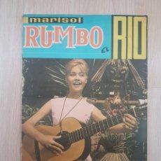 Coleccionismo Álbumes: MARISOL RUMBO A RIO. ED. FHER. AÑO 1963 (FALTAN 20 CROMOS) IMPECABLE!!!. Lote 190520211