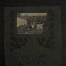 Coleccionismo Álbumes: ALBUM TIKETS ESCENAS PELICULAS-EDITORIAL RECLAME FILMS- BARCELONA-VACIO-VER FOTOS-(V-18.783). Lote 190847083