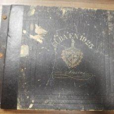 Coleccionismo Álbumes: CUBA EN 1925. LA HABANA. SUSINI. EL CIGARRO SIN RIVAL. ALBUM INCOMPLETO. FALTAN 5 CROMOS. VER FOTOS.. Lote 190913846