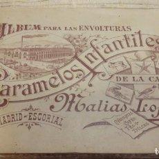Collectionnisme Albums: ALBUM DE ZOOLOGIA, CARAMELOS IFANTILES MATIAS LOPEZ -3ª EDICION -DE 624 CROM. TIENE 594 APROX.. Lote 191037943