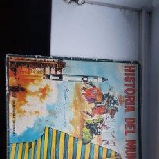 Coleccionismo Álbumes: ALBUM HISTORIA DEL MUNDO FHER. Lote 191063252
