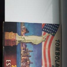 Coleccionismo Álbumes: TOMBOLA DIOCESANA DE LA VIVIENDA VISTAS EEUU. Lote 191064180
