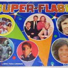 Coleccionismo Álbumes: ÁLBUM DE CROMOS SUPER-FLASH DE MAGA 1980, CON 35 CROMOS DE 162. Lote 133740538