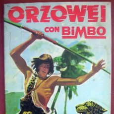 Coleccionismo Álbumes: ALBUM CROMOS ORZOWEI. BIMBO. FALTAN 16.. Lote 191157986