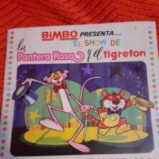Coleccionismo Álbumes: ALBUM BIMBO EL SHOW DE LA PANTERA ROSA Y EL TIGRETON. Lote 191321592