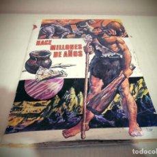 Collectionnisme Albums: ALBUN HACE MILLONES DE AÑOS - EDITORIAL RUIZ ROMERO AÑO 1971 -FALTA EL CROMO 17 -SOLO . Lote 191360497
