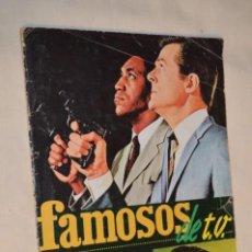 Coleccionismo Álbumes: ÁLBUM - FAMOSOS DE T.V. - EDITORIAL FHER S.A. / AÑO 1966 - SOLO FALTAN 1 CROMO, EL NÚMERO 10 ¡MIRA!. Lote 191519210