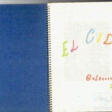 Coleccionismo Álbumes: LIBRETA CON 192 CROMOS EL CID EN PEGADOS DIFERENTES BUEN ESTADO . Lote 191705823