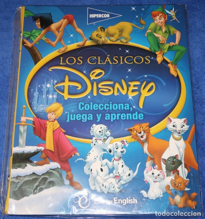 LOS CLÁSICOS DISENY - HIPERCOR ¡ALBUM VACÍO! (Coleccionismo - Cromos y Álbumes - Álbumes Incompletos)