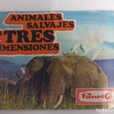 Coleccionismo Álbumes: ANIMALES SALVAJES EN TRES DIMENSIONES PANRICO. Lote 192388221