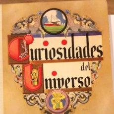 Coleccionismo Álbumes: CURIOSIDADES DEL UNIVERSO, ALBUM DE CROMOS DE NESTLE AÑO 1933. Lote 192643602