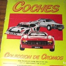 Coleccionismo Álbumes: COCHES COLECCIÓN DE CROMOS. EDICIONES UNIDAS, S.A.. Lote 192667122