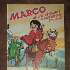 Collectionnisme Albums: ALBÚM DE CROMOS DE MARCO. Lote 192798796