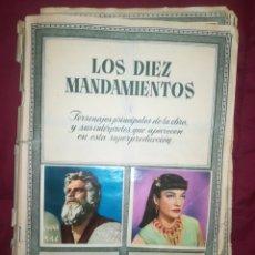 Coleccionismo Álbumes: ÁLBUM CROMOS LOS DIEZ MANDAMIENTOS. Lote 192937668