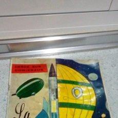 Coleccionismo Álbumes: ALBUM DE CROMOS LA AERONAUTICA DESDE SUS COMIENZO 1968 EDICIONES M.R. TIENE 20 CROMOS PEGADOS DE 126. Lote 193279323