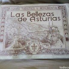 Coleccionismo Álbumes: ÁLBUM LAS BELLEZAS DE.ASTURIAS. Lote 193812303
