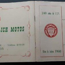 Coleccionismo Álbumes: TÓMBOLA VALENCIANA DE CARIDAD, ALBUM 240 VISTAS U.S.A. 1960 A FALTA DE DOS CROMOS. Lote 193830937