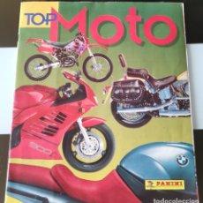 Coleccionismo Álbumes: ÁLBUM CROMOS ED. PANINI TOP MOTO. Lote 194097373