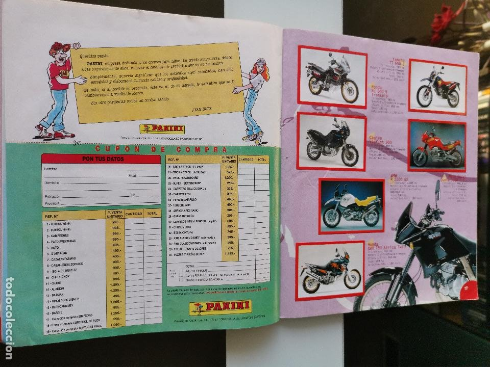 Coleccionismo Álbumes: ÁLBUM CROMOS ED. PANINI TOP MOTO - Foto 14 - 194097373