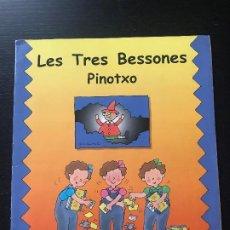 Coleccionismo Álbumes: LES TRES BESSONES PINOTXO - LAS TRES MELLIZAS - ALBUM CROMOS INCOMPLETO CATALAN FALTAN 53 DE 144. Lote 194221057