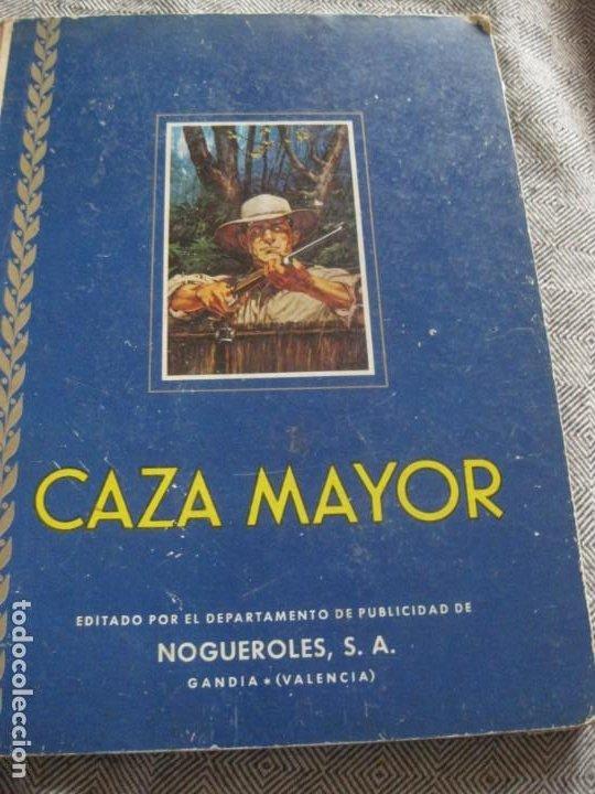 ALBUM DE CROMOS CAZA MAYOR . NOGUEROLES RUIZ ROMERO 1962 GANDIA INCOMPLETO 62 DE 162 (Coleccionismo - Cromos y Álbumes - Álbumes Incompletos)