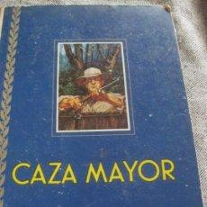 Coleccionismo Álbumes: ALBUM DE CROMOS CAZA MAYOR . NOGUEROLES RUIZ ROMERO 1962 GANDIA INCOMPLETO 62 DE 162. Lote 194234630
