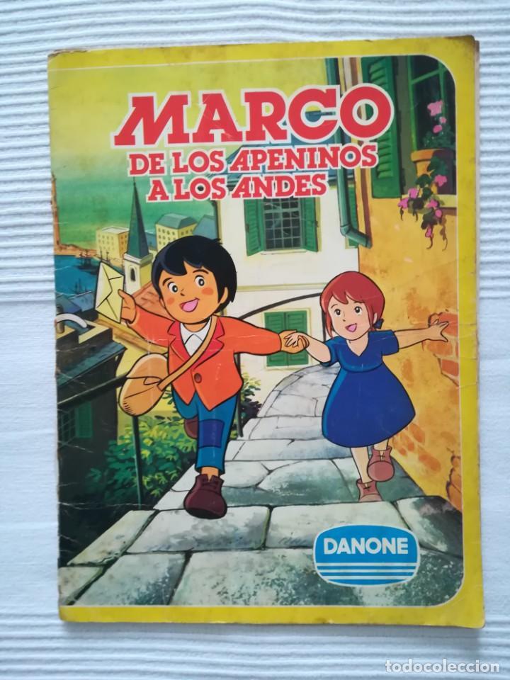 Coleccionismo Álbumes: 2 Albums Marco 1ª parte COMPLETO 2ª parte INCOMPLETO - Foto 2 - 194236376