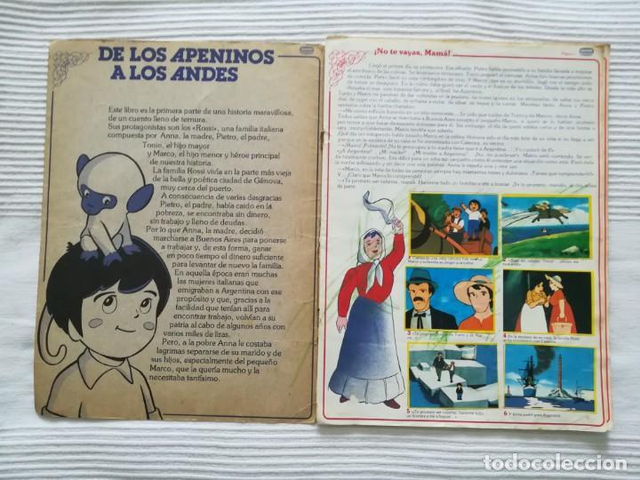 Coleccionismo Álbumes: 2 Albums Marco 1ª parte COMPLETO 2ª parte INCOMPLETO - Foto 3 - 194236376