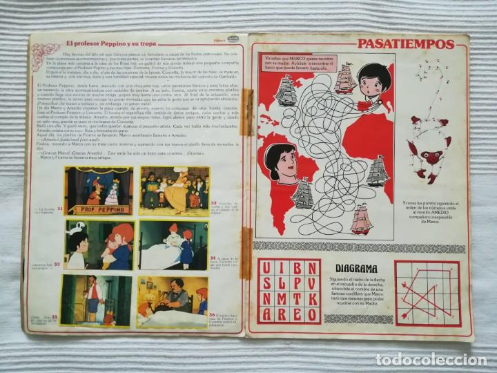 Coleccionismo Álbumes: 2 Albums Marco 1ª parte COMPLETO 2ª parte INCOMPLETO - Foto 6 - 194236376