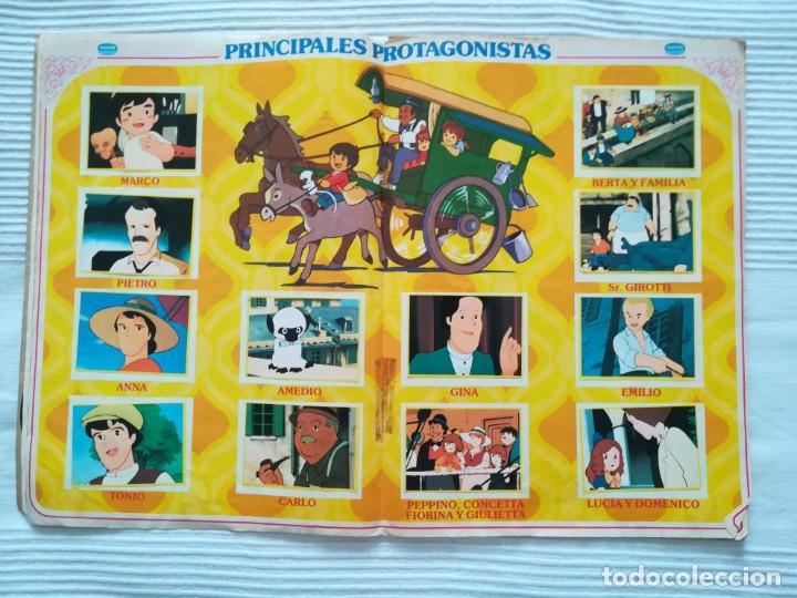 Coleccionismo Álbumes: 2 Albums Marco 1ª parte COMPLETO 2ª parte INCOMPLETO - Foto 7 - 194236376