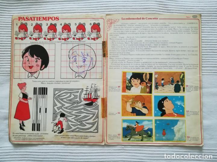 Coleccionismo Álbumes: 2 Albums Marco 1ª parte COMPLETO 2ª parte INCOMPLETO - Foto 8 - 194236376