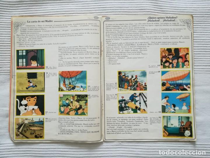 Coleccionismo Álbumes: 2 Albums Marco 1ª parte COMPLETO 2ª parte INCOMPLETO - Foto 9 - 194236376