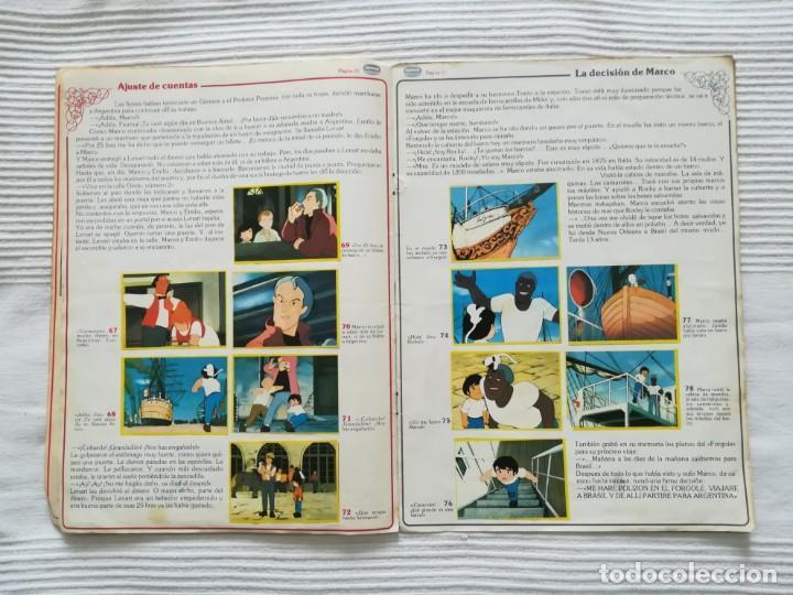 Coleccionismo Álbumes: 2 Albums Marco 1ª parte COMPLETO 2ª parte INCOMPLETO - Foto 10 - 194236376