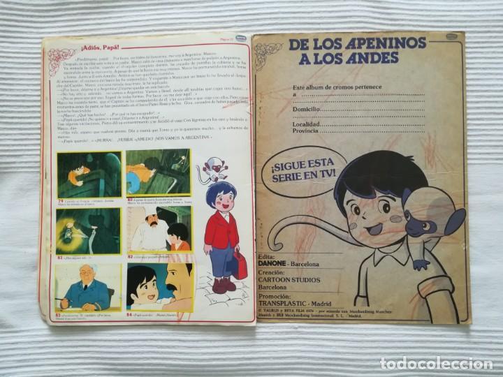 Coleccionismo Álbumes: 2 Albums Marco 1ª parte COMPLETO 2ª parte INCOMPLETO - Foto 11 - 194236376