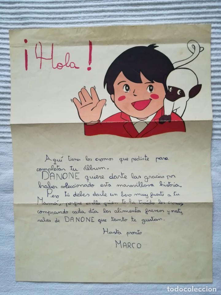 Coleccionismo Álbumes: 2 Albums Marco 1ª parte COMPLETO 2ª parte INCOMPLETO - Foto 14 - 194236376