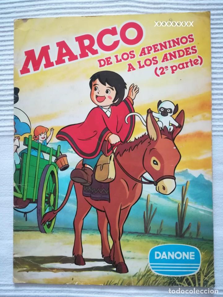 Coleccionismo Álbumes: 2 Albums Marco 1ª parte COMPLETO 2ª parte INCOMPLETO - Foto 15 - 194236376