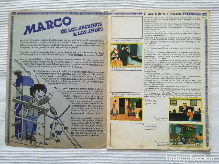 Coleccionismo Álbumes: 2 Albums Marco 1ª parte COMPLETO 2ª parte INCOMPLETO - Foto 16 - 194236376