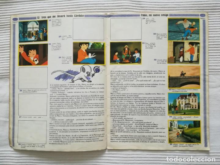 Coleccionismo Álbumes: 2 Albums Marco 1ª parte COMPLETO 2ª parte INCOMPLETO - Foto 18 - 194236376