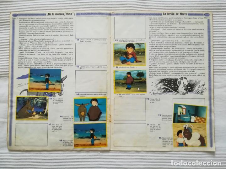 Coleccionismo Álbumes: 2 Albums Marco 1ª parte COMPLETO 2ª parte INCOMPLETO - Foto 23 - 194236376