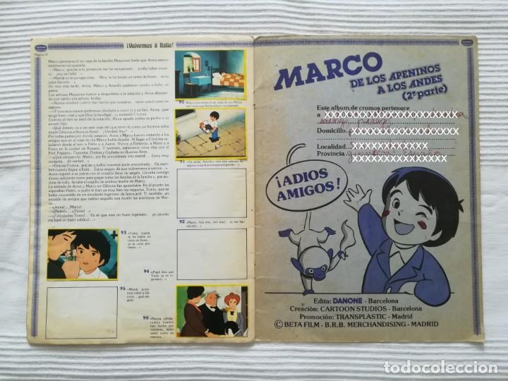 Coleccionismo Álbumes: 2 Albums Marco 1ª parte COMPLETO 2ª parte INCOMPLETO - Foto 25 - 194236376