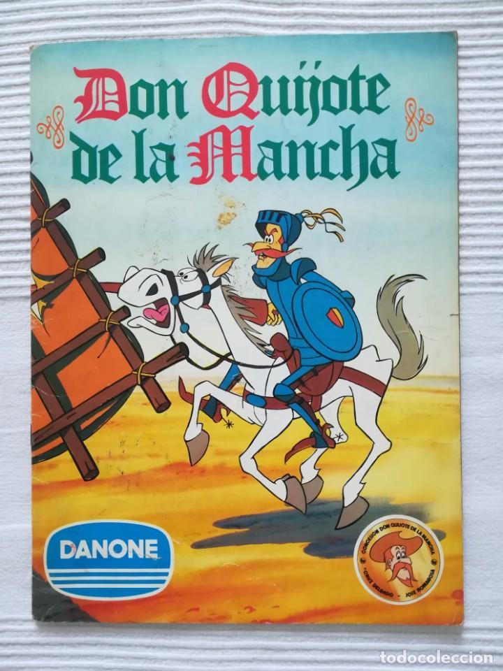 ÁLBUM DON QUIJOTE DE LA MANCHA DE DANONE (Coleccionismo - Cromos y Álbumes - Álbumes Incompletos)