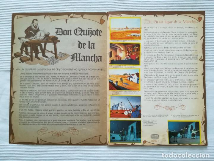 Coleccionismo Álbumes: Álbum Don Quijote de la Mancha de Danone - Foto 2 - 194236976