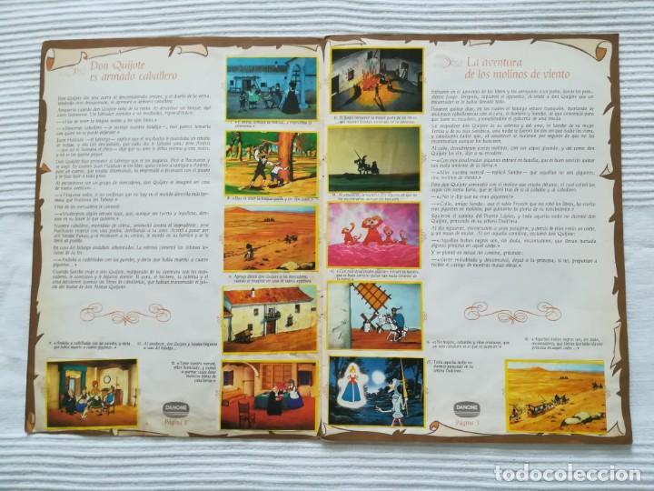 Coleccionismo Álbumes: Álbum Don Quijote de la Mancha de Danone - Foto 3 - 194236976