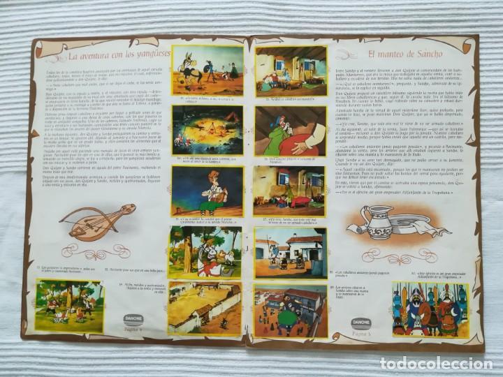 Coleccionismo Álbumes: Álbum Don Quijote de la Mancha de Danone - Foto 4 - 194236976